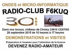 Portes Ouvertes F6KUQ Cestas Samedi 26 Sept 2015